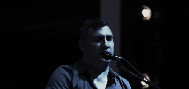 Greg Dulli at The Woodward Theater courtesy of Michael Kearns